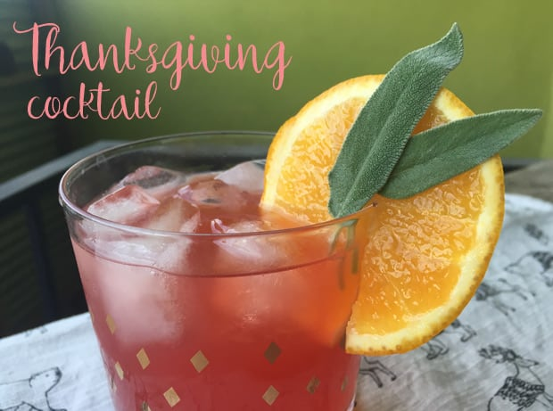Thanksgiving cocktail recipe 2 The Ever So Grateful Thanksgiving Cocktail Recipe