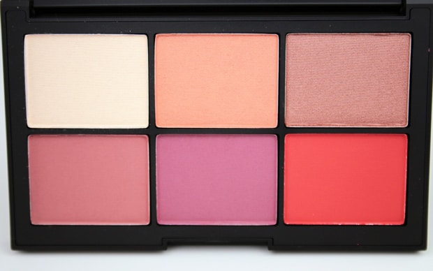 NARSissist Unfiltered I Cheek Palette swatches NARSissist Unfiltered I Cheek Palette swatches and review