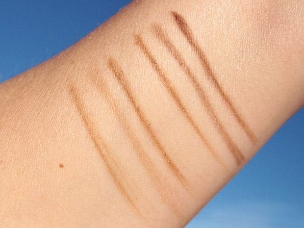 Loreal The Brow Stylist swatches 4 LOreal Brow Stylist Prep & Shape Pro Kit and Infallible Pro Contour Palette review