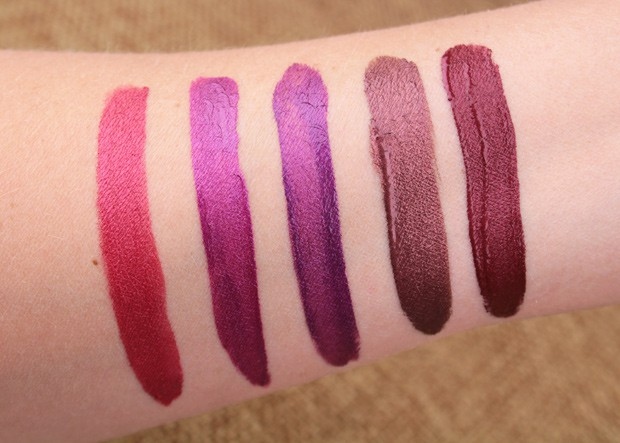 Long wear, no cares: Milani Amore Matte Metallic Lip Creme swatches and review