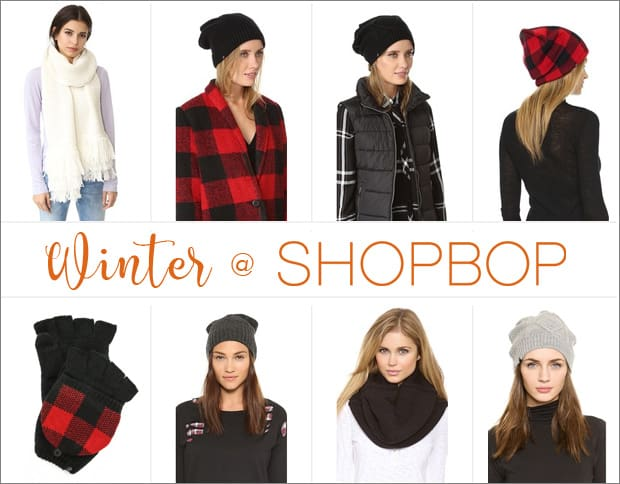 Baby, it's cold outside…time to shop!