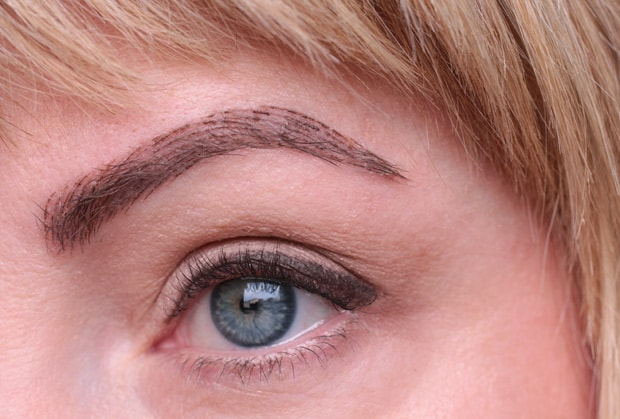 microbladding healing process image Five Things You Should Know About Microblading