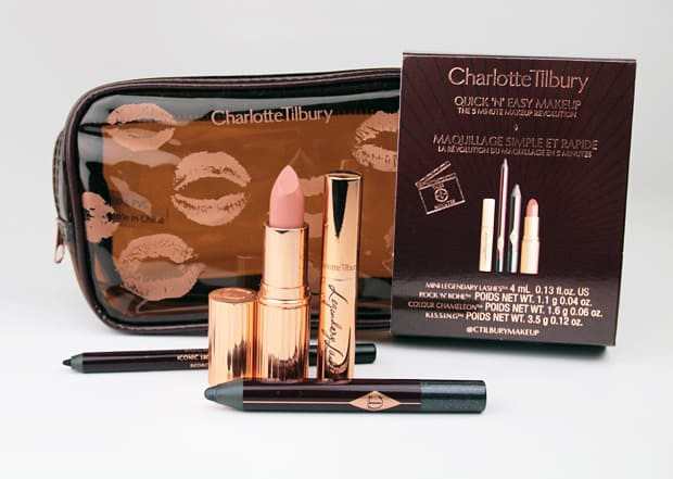 Charlotte Tilbury Quick and Easy Smokey Eye Kit 1 Charlotte Tilbury Quick N Easy Smokey Eye Evening Look swatches and look