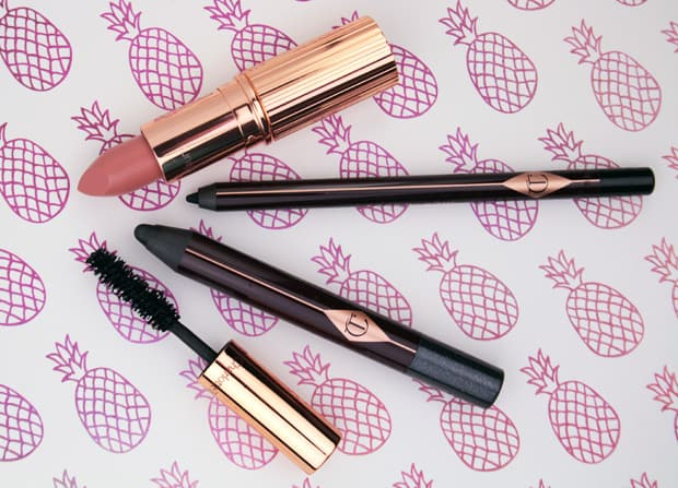 Charlotte Tilbury Quick and Easy Smokey Eye Kit 3 Charlotte Tilbury Quick N Easy Smokey Eye Evening Look swatches and look