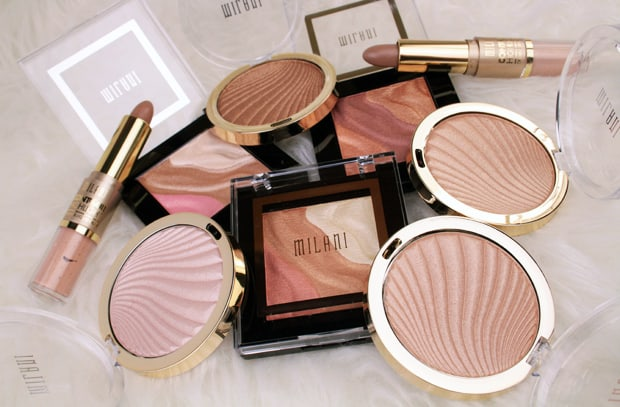 Milani Contour Highlight products new for 2017 Spring 2017 Milani contour & highlight products   review, swatches & look