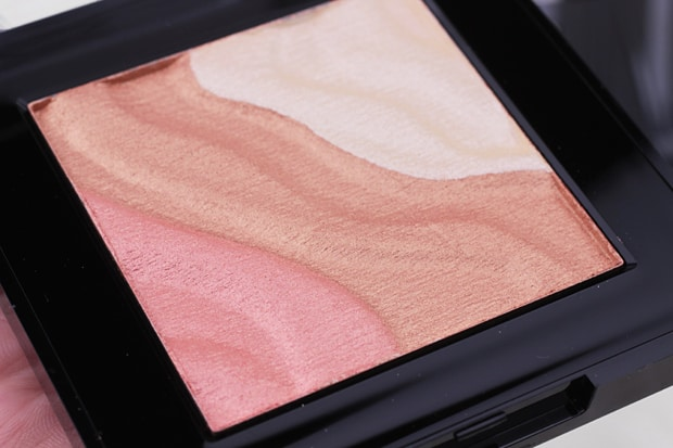 Milani Spotlight Face and Eye Strobe Palette review 2 Spring 2017 Milani contour & highlight products   review, swatches & look