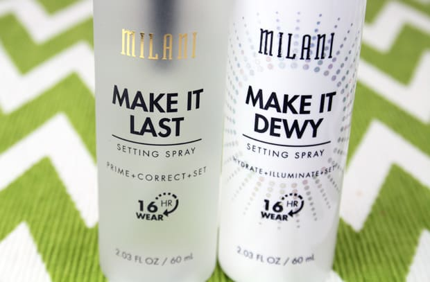 Milani make it last setting spray review 6 NEW Milani Make it Dewy Setting Spray review (and more!)