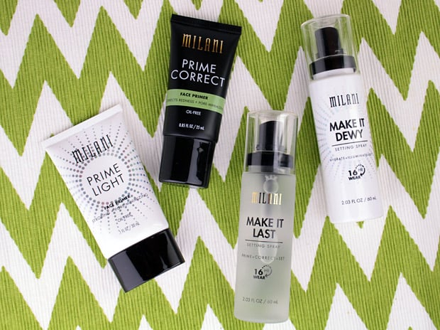 We Heart This shares a Milani Make it Dewy Setting Spray review: It hydrates, illuminates and sets. It basically feels like a spa mist of cucumber water.