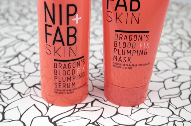 Nip Fab Dragons Blood Fix Plumping Mask review 3 Nip + Fab Dragons Blood Fix Plumping Serum and Mask review