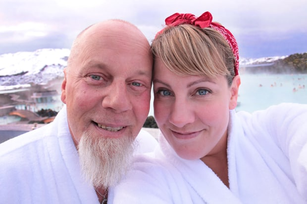 Blue Lagoon Iceland Selfie