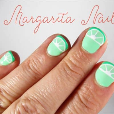 Easy DIY Nail Art: Margarita Manicure