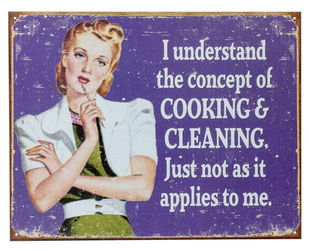 Funny cleaning quote 3 Things: Spring Cleaning