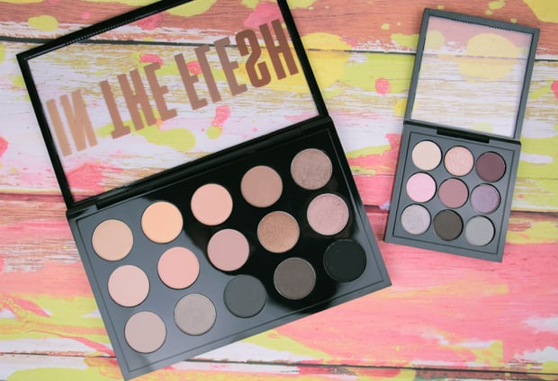 MAC in the flesh palette review 1B Eyes on MAC review, and a MAC Eye Shadow Finish Guide