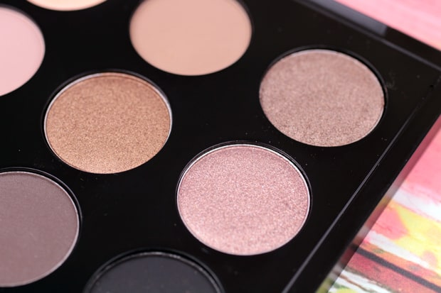 MAC in the flesh palette review 1C Eyes on MAC review, and a MAC Eye Shadow Finish Guide