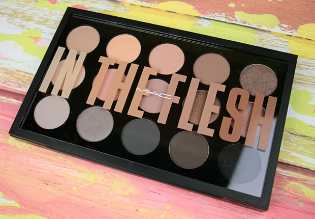 MAC in the flesh palette review 2 Eyes on MAC review, and a MAC Eye Shadow Finish Guide
