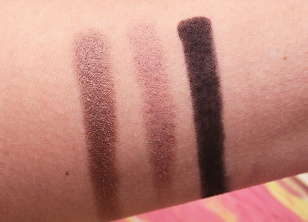 MAC in the flesh palette swatches 3 Eyes on MAC review, and a MAC Eye Shadow Finish Guide