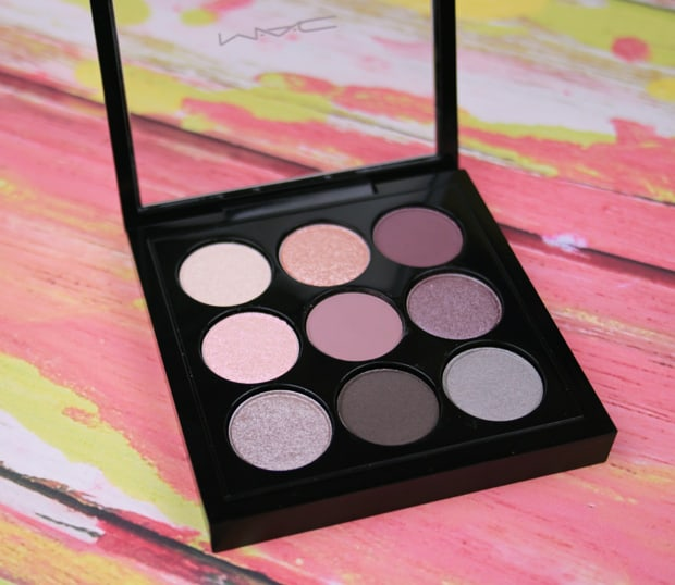 MAC solar glow palette review 1B Eyes on MAC review, and a MAC Eye Shadow Finish Guide