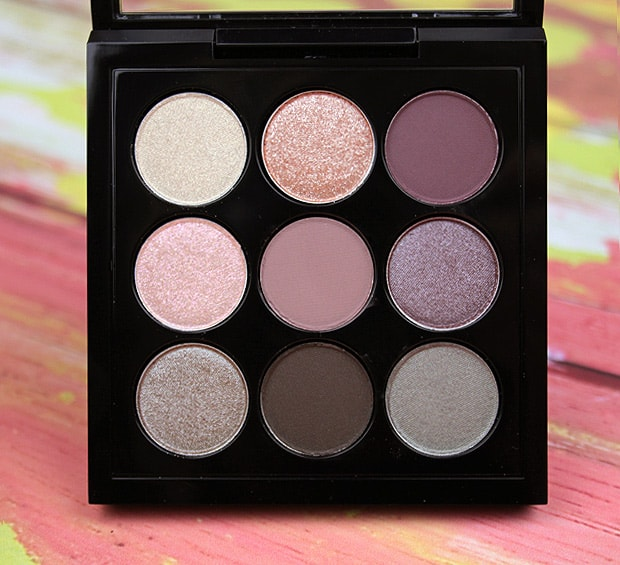 MAC solar glow palette review 1C Eyes on MAC review, and a MAC Eye Shadow Finish Guide