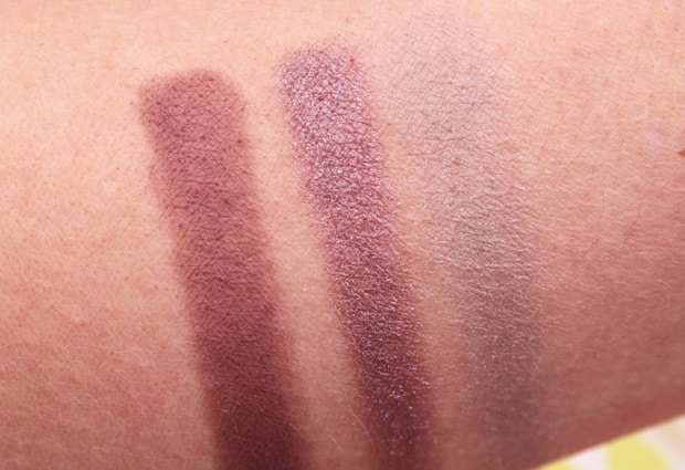 MAC solar glow palette swatches 2 Eyes on MAC review, and a MAC Eye Shadow Finish Guide