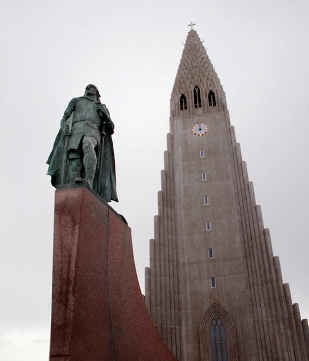 Hallgrimskirkja Church organ Reykjavik Iceland