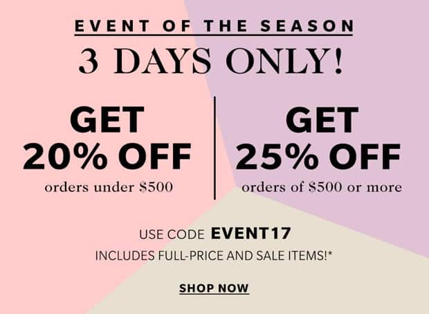 Shopbop sale event April 2017 Shopbop Sale Spring 2017: this California Girl has some suggestions