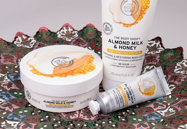 The Body Shop Almond Milk and Honey Body Lotion 1 The Body Shop Almond Milk and Honey Body Care Collection