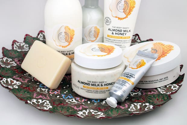 The Body Shop Almond Milk and Honey Collection review 1 The Body Shop Almond Milk and Honey Body Care Collection