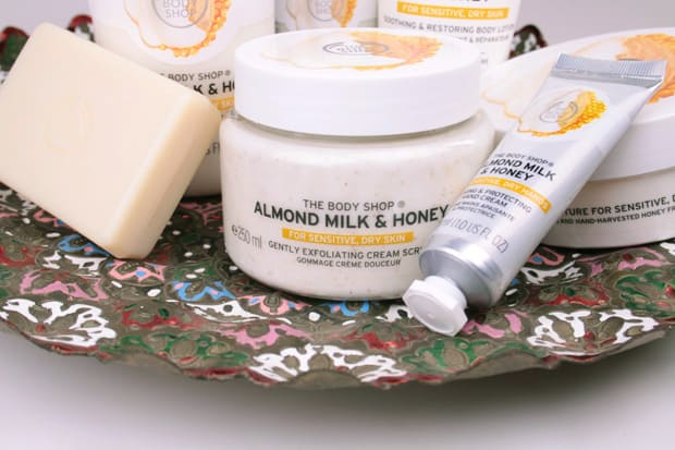 The Body Shop Almond Milk and Honey Collection review 2 The Body Shop Almond Milk and Honey Body Care Collection