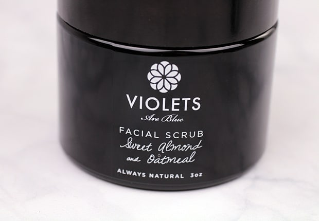 Violets Are Blue Organic Skincare Facial Scrub Best in Natural Beauty Products: Violets are Blue Skincare