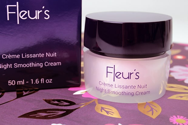 Fleur Night smoothing cream 1 Fleurs Night Smoothing Cream and Pearlescent Eye Care Review