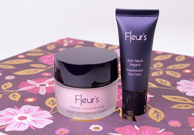 Fleurs French Skincare 1 Fleurs Night Smoothing Cream and Pearlescent Eye Care Review