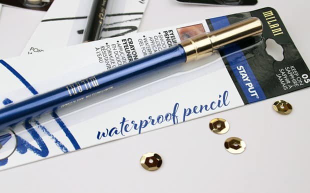 Milani Stay Put Waterproof Eyeliner Pencil 2 Milani Stay Put Waterproof Eyeliner Pencil swatches and review