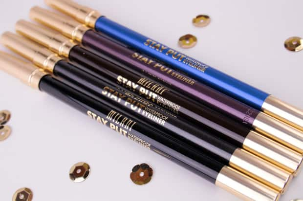 Milani Stay Put Waterproof Eyeliner Pencil 3 Milani Stay Put Waterproof Eyeliner Pencil swatches and review