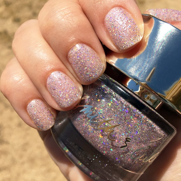 Smith and Cult Vegas Post Apocalyptic nail lacquer swatches A Disco Ball Explosion: Smith & Cult Vegas Post Apocalyptic Nail Lacquer