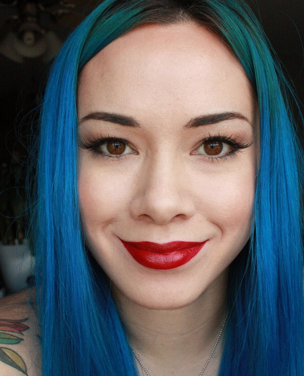 Urban Decay Vice Lipstick Gash swatches Urban Decay Red Lipstick Guide