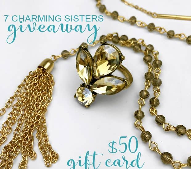 We heart 7 Charming Sisters jewelry (and want you win this GIVEAWAY)