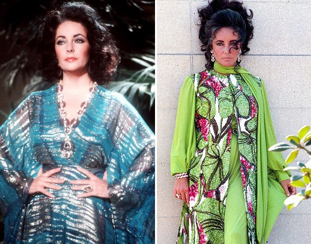Liz Taylor Caftan 3 Things: Caftans (and Jon Hamm, but mostly Caftans...)