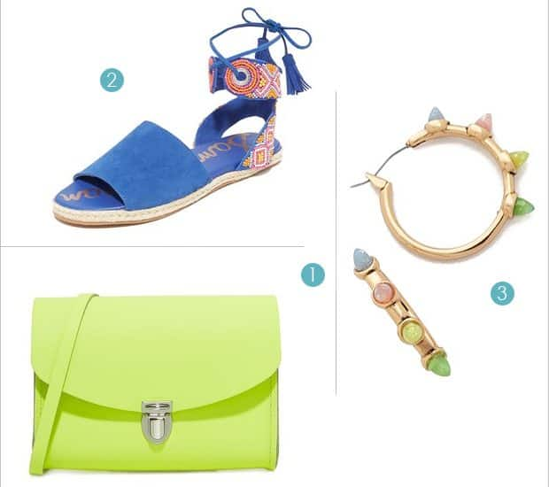 Bold Accessories to Lead You into Summer (on sale now at Shopbop)