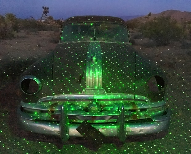 Blisslights desert landscaping 1951 Pontiac BlissLights: One Little Light Can Decorate Your WHOLE House