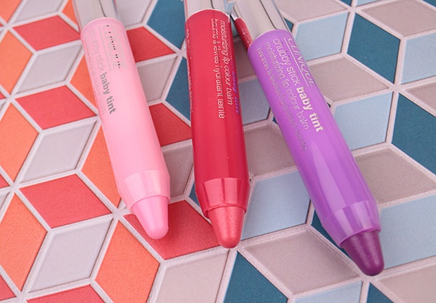 Clinique Chubby Stick Baby Tint swatches and review