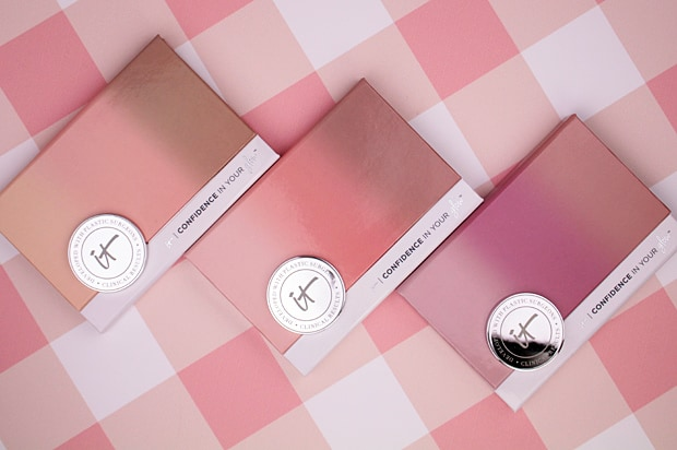 IT Cosmetics Confidence In Your Glow Blushing Bronzer packaging 3 IT Cosmetics Confidence In Your Glow Blushing Bronzer swatches and review