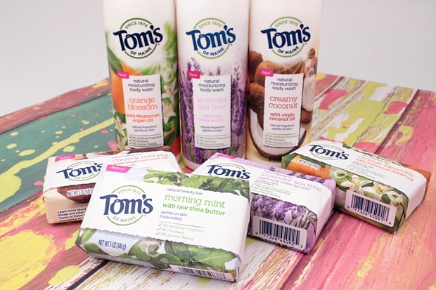 Toms of Maine Lavender Tea Tree body wash 2 Toms of Maine Body Wash review (and Beauty Bars too!)