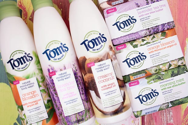 Tom's of Maine Body Wash review (and Beauty Bars too!)