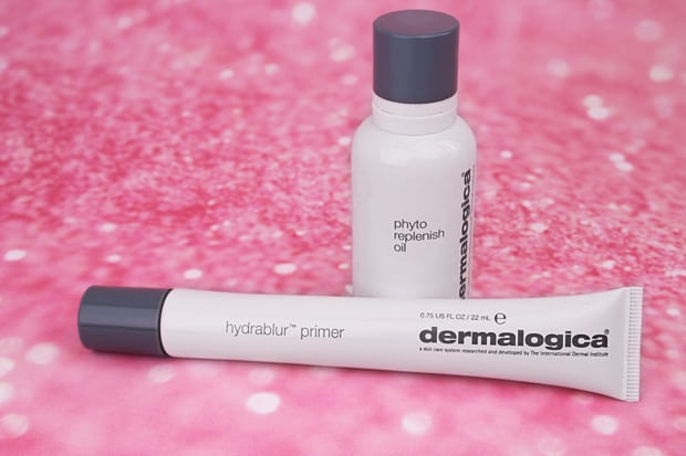 Dermalogica Hydrablur primer review Dermalogica Hydrablur Primer and Phyto Replenish Oil