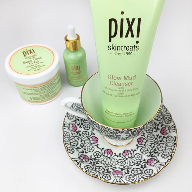 Pixi Glow Mud Glow Tonic Last Thing Used on My Face: A Glowy Trio by Pixi Beauty