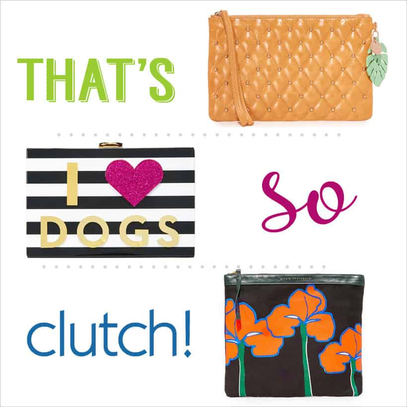 Shopbop sale on clutch purses