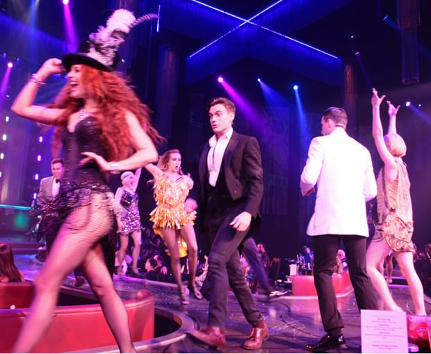 Baz at the Palazzo Las Vegas Hotel musical finale
