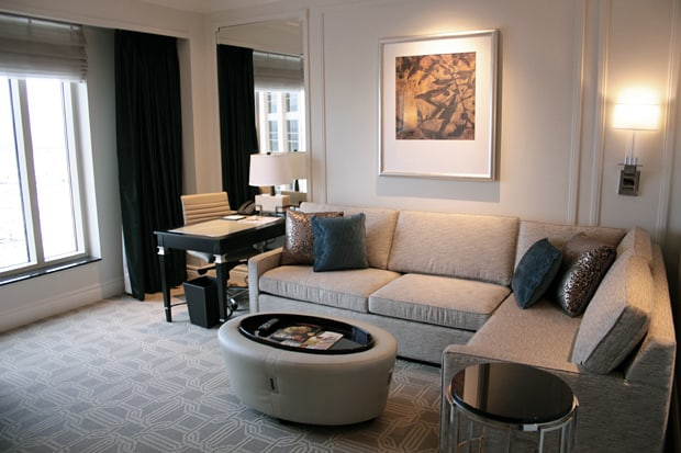 The Palazzo Las Vegas hotel room