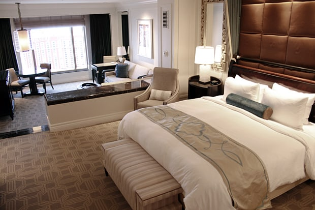 The Palazzo Las Vegas suite Looking for Vegas Glamour? Look no further than The Palazzo...