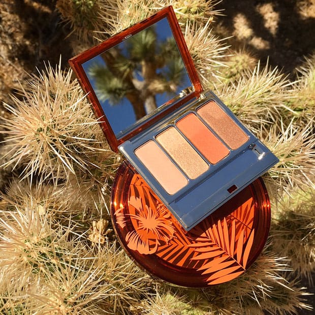 favorite eye shadow palette Clarins sunkissed summer My Favorite New Eye Shadow Palettes, summer 2017 edition